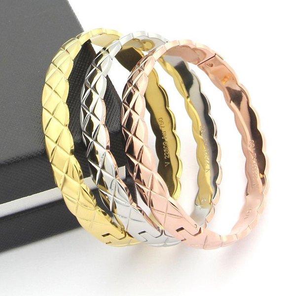 Bangles bracelets stainless steel bracelets bracelets for women men couple cool jewelry wholesale фото