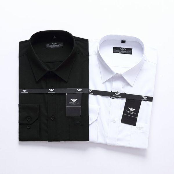 Luxury mens designer long sleeve shirts firmate business dress shirts fashion casual brand shirt print slim shirt homme button up 118 фото