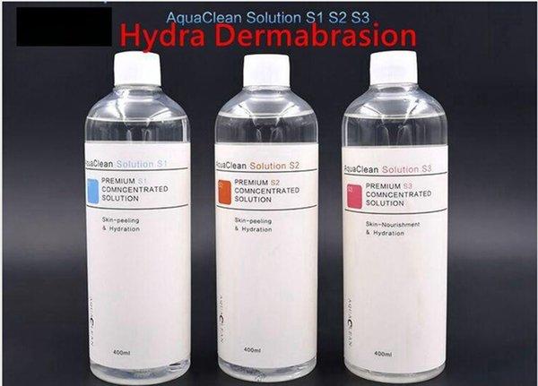 New arrival aqua peel concentrated olution 400ml per bottle aqua facial erum hydra facial erum for normal kin aqua clean olution dhl