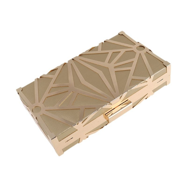 geometric geometric women clutch bag box evening party bags chain shoulder purse evening bag for new year christmas gift purses (525645559) photo