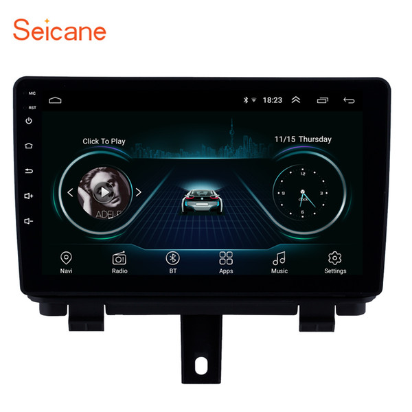 Android 8 1 9 inch hd touch creen car gp navigation radio for 2013 2017 audi q3 with bluetooth wifi upport dab dvr digital tv rear camera