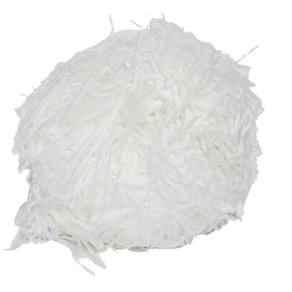 gvcd-100g luxury white shredded tissue hamper paper gifts box candy packaging (485854469) photo
