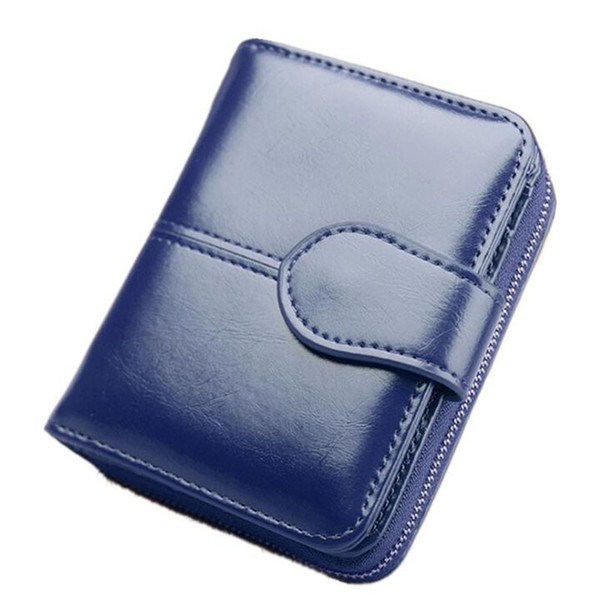 pu leather coin purse women small wallet change purses multifunction coin porte monnaie femme zipper short purses holders (452486358) photo