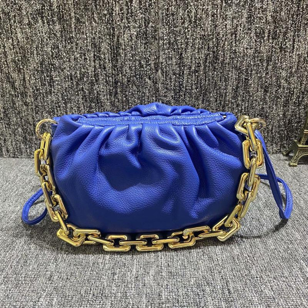 summer female bag first layer cowhide simple wrinkle shoulder pure leather evening bags 2020 women purse and handbags (553514327) photo