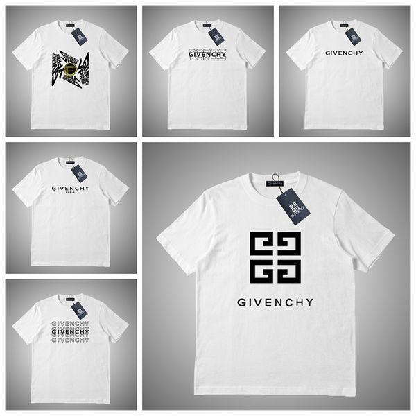 Givenchy Роскошные Летние Футболки Мужские Дизайнерские Футболки Мужчины Женщины Фу фото