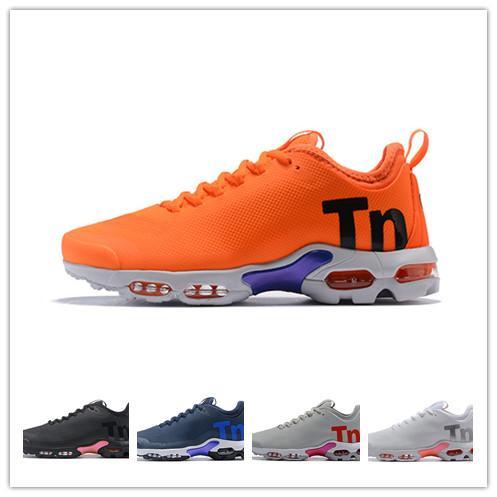 Tn artı ultra SE 2019 erkek tasarımcı ayakkabı siyah turuncu beyaz açık run yardımcı erkekler koşu koşu ayakkabıları koşu hava sneakers
