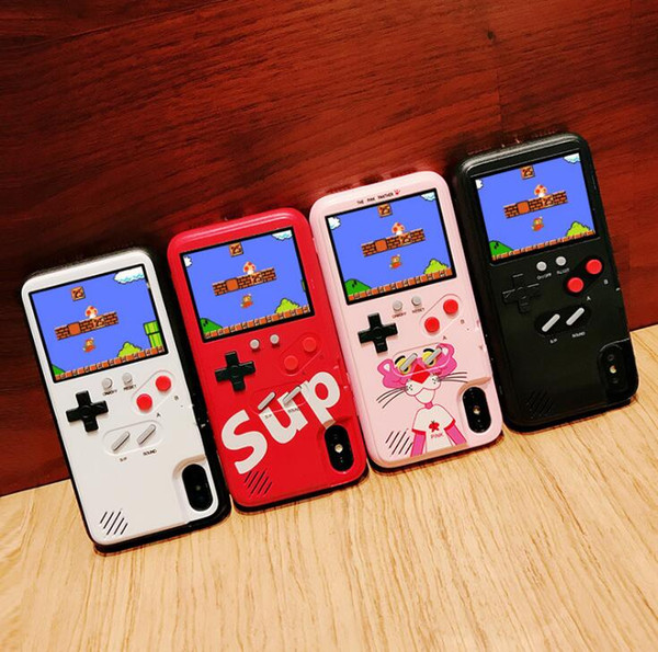 Portable color lcd game player protective ca e  leeve for iphone x xr x  max protection  leeve cover coque for iphone xr x x  max 7 8 6 6