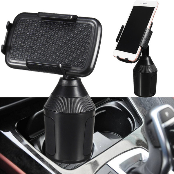 Car cup phone holder phone  tand 360 adju table holder car phone holder one touch de ign for iphone xr  am ung huawei xiaomi