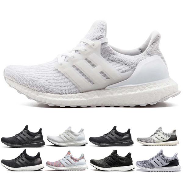Adidas ultra boost 3.0 4.0 Мужская обувь designse кроссовки 3.0 4.0 Мужские кроссовки Oreo белый черны