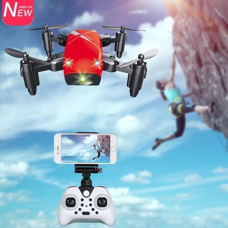 Aeofun  9hw mini drone con cámara hd  9 no cámara plegable rc quadcopter altitud helicóptero wifi fpv micro bol illo drone