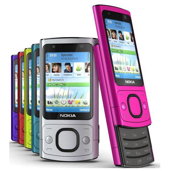 Refurbi hed original nokia 6700  6700  ilder cellphone 3g wcdma g m unlocked cell phone engli h ru  ian keyboard