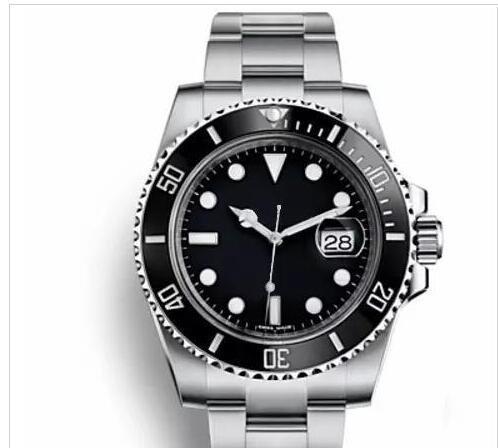 Мужские часы 2813 механизм с автоподзаводом наручные часы керамический безель 30 ме фото
