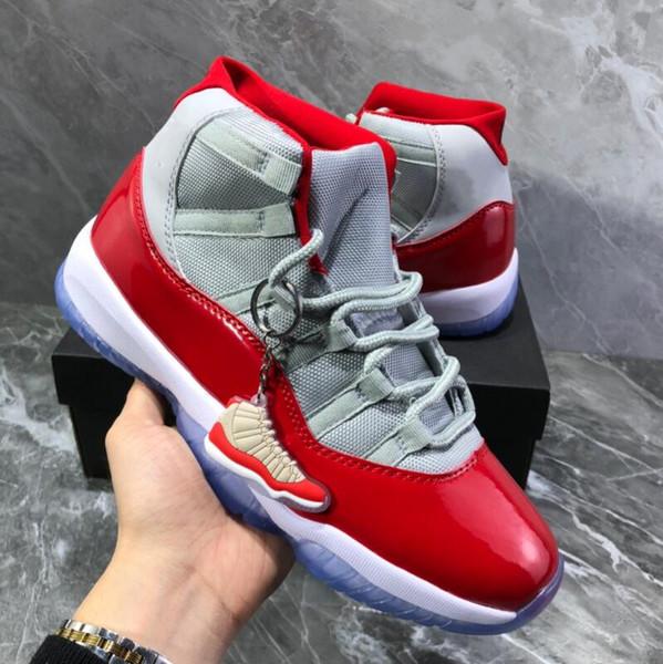 Новые Высококачественные 11 Университетских красных мужских кроссовок Баскетбол фото