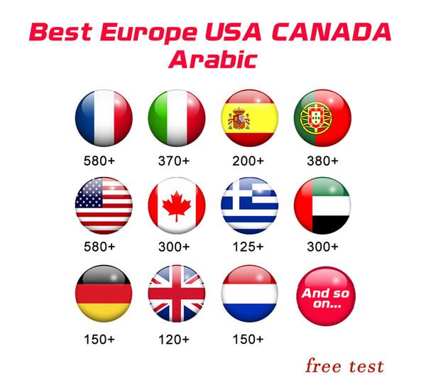 X96 MINI подписка на 7000 + HD Arabic Европа Франция Германия Испания Португалия США Канада фото