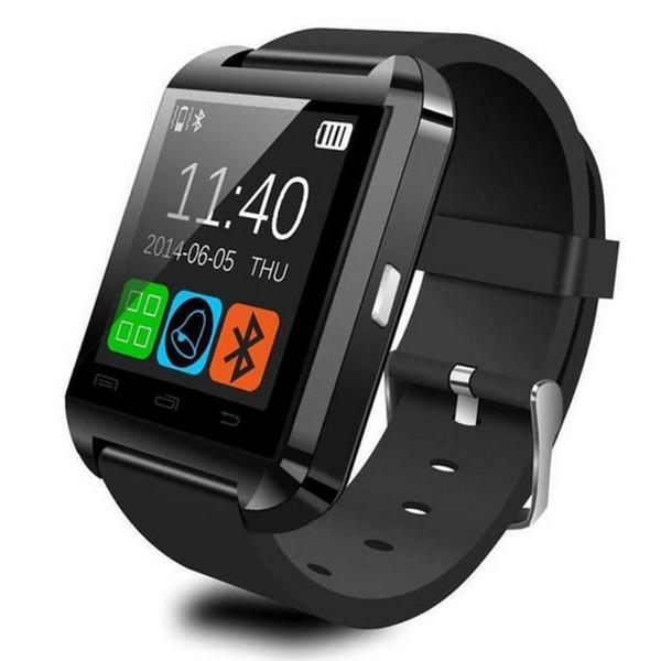 U8 Bluetooth Смарт Часы сенсорный экран наручные часы для iPhone7 IOS Samsung S8 Android телефон Sleepin фото