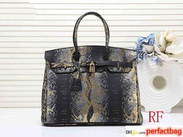 designer handbags h k women 35cm purse bag fashion totes snake pattern purses b k handbag (512158049) photo