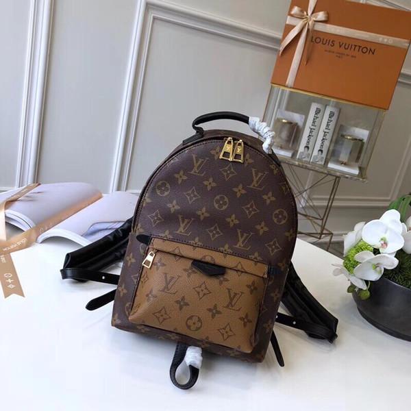 Top-Qaulity M41560 размер 20..31..10cm Италия Дизайнерская мода Рюкзак сумка Шелковая подкладк