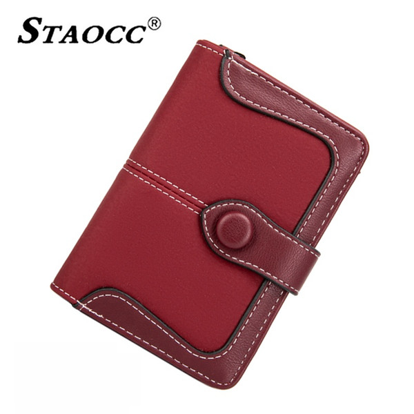 classic vintage wallet women short 2019 small coin purse student wallets card holder leather fashion purse hasp ladies money wal (513255918) photo