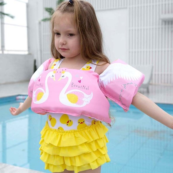puddle jumper swimming water sports deluxe life jacket safety vest for kids baby