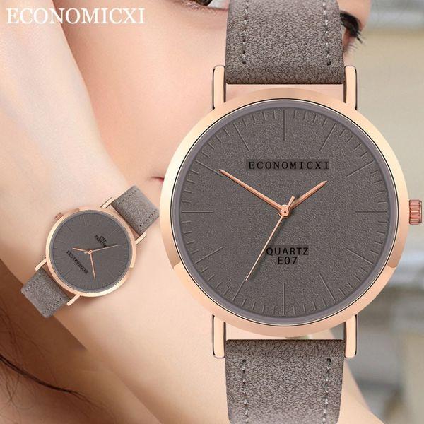 Горячая продажа женщин Наручные часы Мода Женщины Простой набор Кварцевые часы Ч