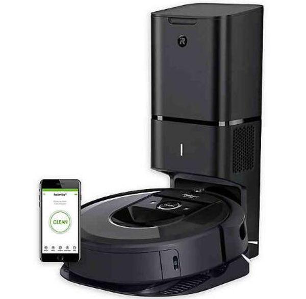 Buy irobot roomba i7 wifi connected robot vacuum with auto dirt di po al 7550