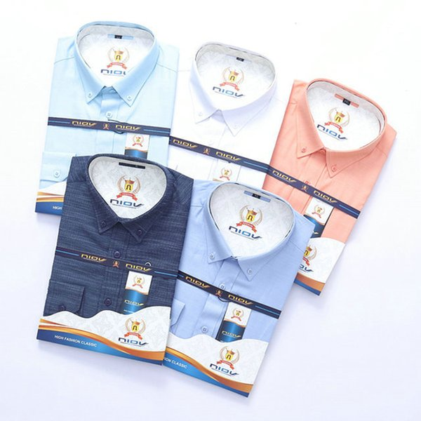 Luxury mens designer long sleeve shirts firmate business dress shirts fashion casual brand shirt print slim shirt homme button up 082 фото