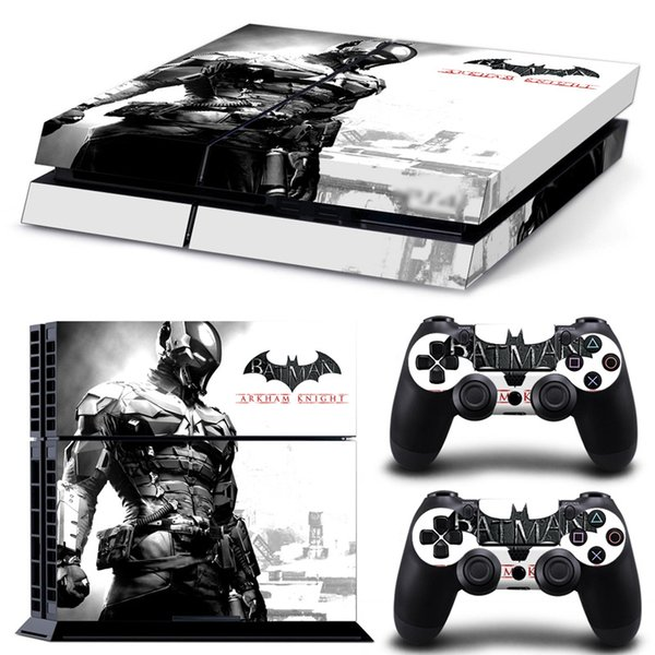 Fanstore Skin Sticker Full Cover Vinyl Decal for Playstation PS4 Console and 2 Remote Controller