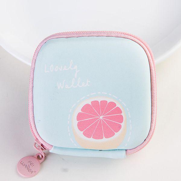 harajuku kawaii women cute mini cartoon ice cream style coin purse soft girl handbag wallet earphone holder purse (456616700) photo