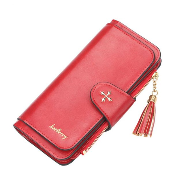 women wallets ladies pu leather wallet purse long trifold clutch purse large capacity cartera mujer /by (520219313) photo
