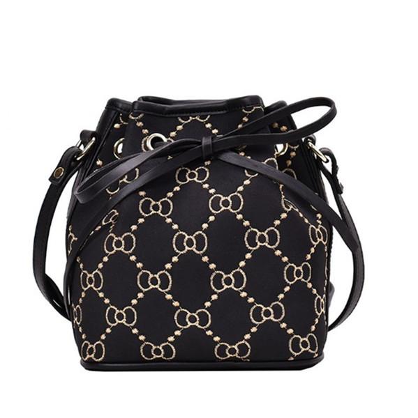 Женская дизайнерская наплечная сумка стильные наплечные сумки ведро Сумка PH-CFY2003195 фото