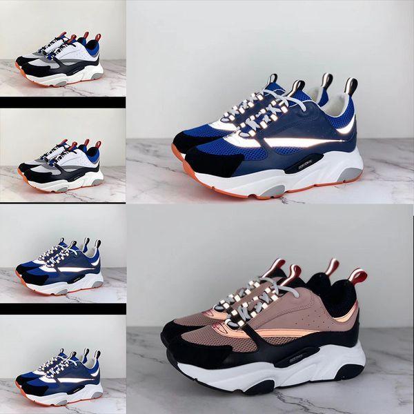 2019 новая дизайнерская обувь 3D светоотражающий холст и обувь из телячьей кожи из Е