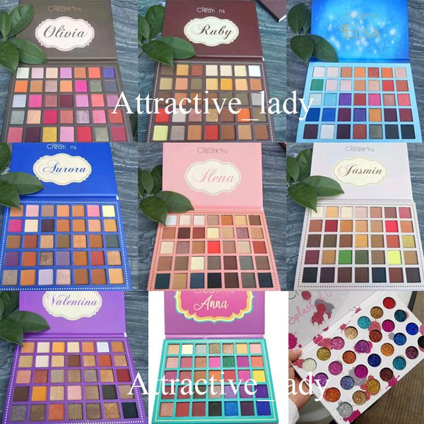 In tock makeup high quality eye hadow palette 35color 9 tyle eye hadow palette dhl
