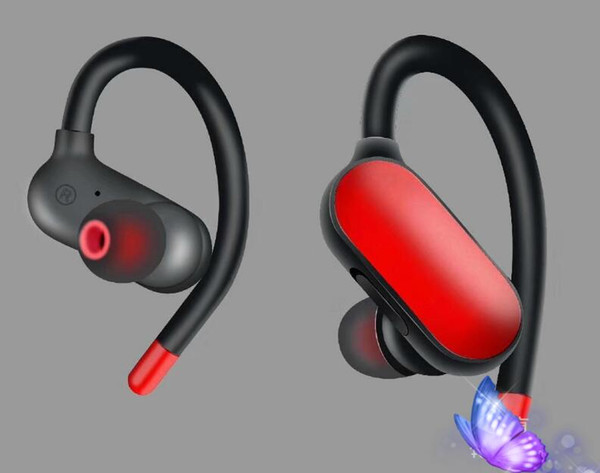 Sport earhook hook wirele   blutetooth head et portable double earphone  v  i80 i60 i100 for iphone x x   am ung  10 huawei