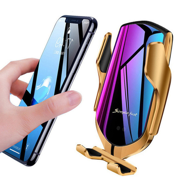 R1  mart induction car phone holder wirele   charging car holder bluetooth po itioning car charger for iphone x  max xr  am ung