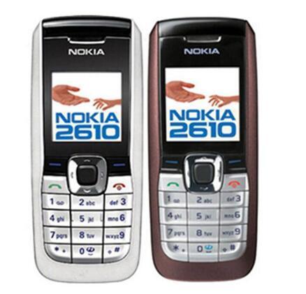 Refurbi hed original nokia 2610 unlocked cell phone engli h ru  ian arabic keyboard 2g g m 900 1800mhz dual band multi language
