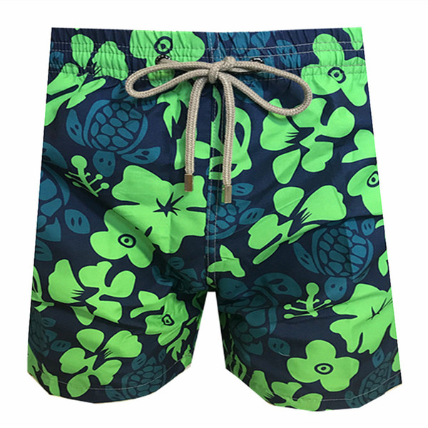Vilebrequin Mens Beach Shorts octopus French brand 027 starfish Turtle printing Bermuda Swimwear male Bathing Shorts Quick drying