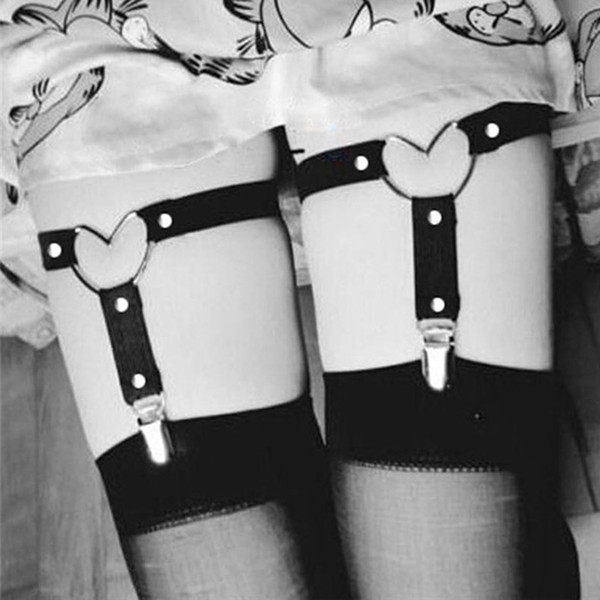 Sexy women garters Heart love Leg ring charms Garter Belts Night Club hip hop women fashion jewelry will and sandy jewelry