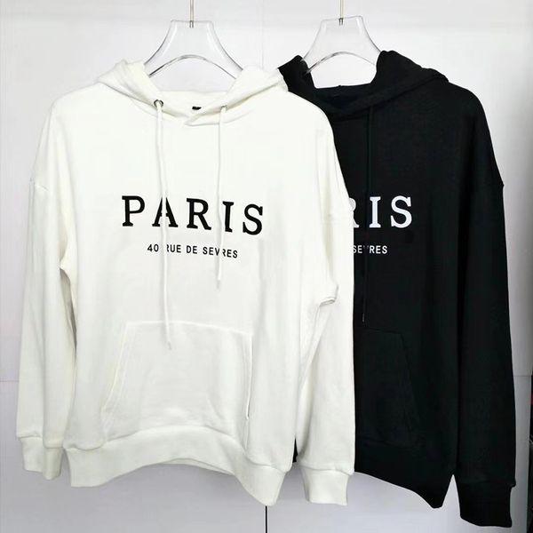 Mens Clothing Homme Hooded Sweatshirts Mens Women Stylist Letter Embroidery Hoodies High Street Hoodies Pullover Sweatshirts M-2XL