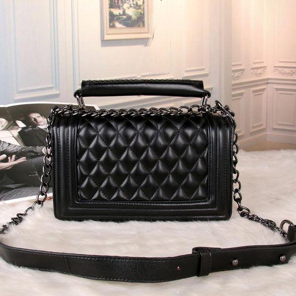 2018 brand fa hion luxury de igner handbag cla ic rhombic quare bag imple houlder me enger bag ladie handbag