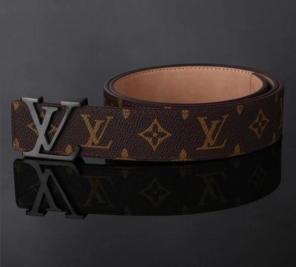 Men belt women genuine leather black and white color de igner cowhide belt for men luxury belt hipping