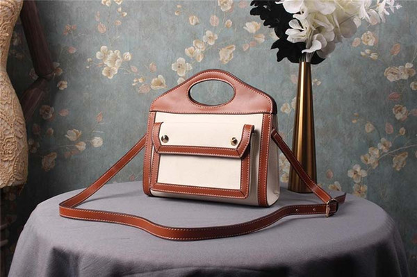 designer handbags canvas material barbery purse bag women designer bags fashion totes shoulder purses designer bag (469455630) photo