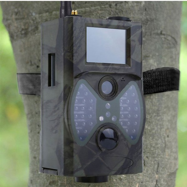 12mp photo trap  email mm  g m 1080p night vi ion hunting trap  hc300m wild hunting camera trail camera wildlife cha  e