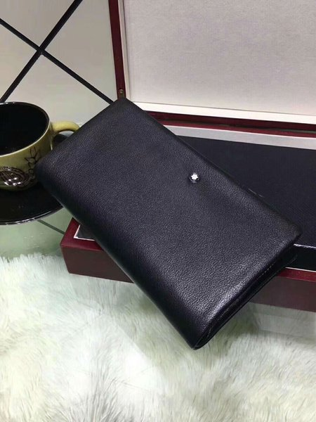 Luxury Wallets Designer MB 90089-05 Card Holders Handbags 21x10 Genuine Leather for man Birthday Christmas New Year Gift