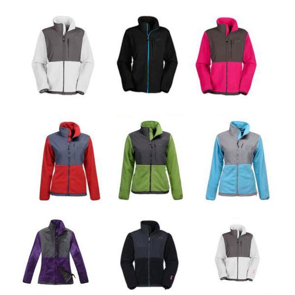 New Winter Womens Fleece Jackets Coats Windproof Warm Soft Shell Sportswear Women Men Kids Coats S-XXL black
