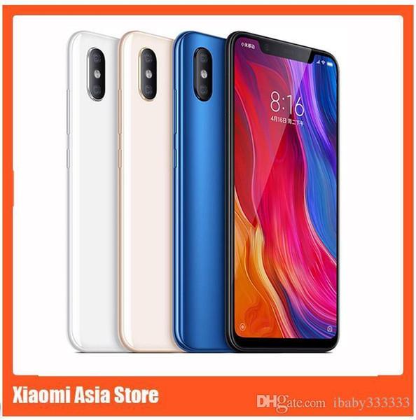Xiaomi mi 8 mi8 6gb ram 128gb rom  napdragon 845 6 21 inch 2248x1080 20mp xiaomi mi8  martphone