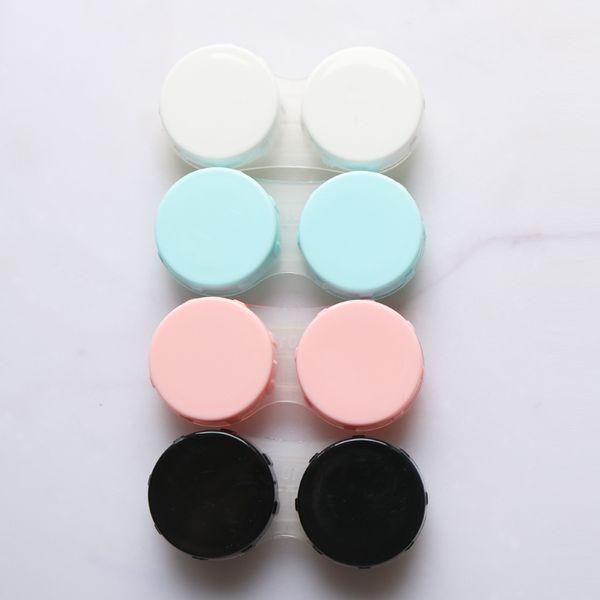 LC06 конфеты цвет контактные линзы чехол двойной чехол контактные линзы линзы конт фото