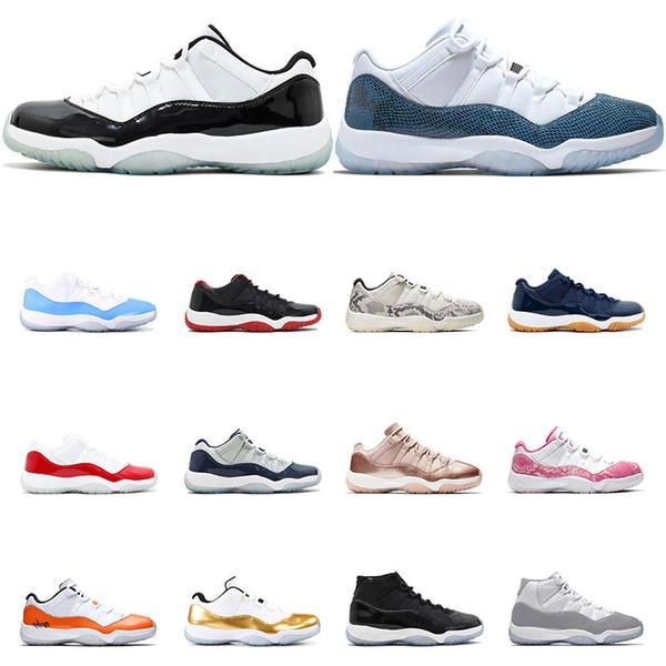 air jordan 11s баскетбольные кроссовки Platinum Tint Concord 45 23 Пром Ночной спортзал красный 11 Bre