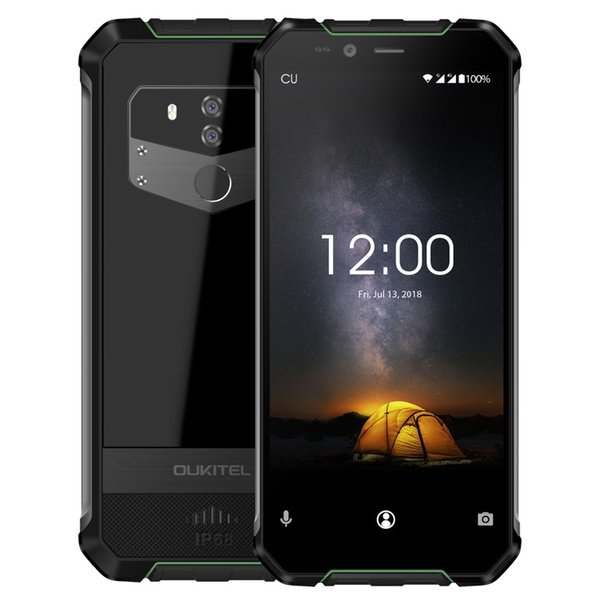 Oukitel wp1 ip68 waterproof octa core 4gb 64gb phone 5000mah 5 5 quot  hd  18 9 di play 13mp 5mp wirele   charging 4g lte  martphone