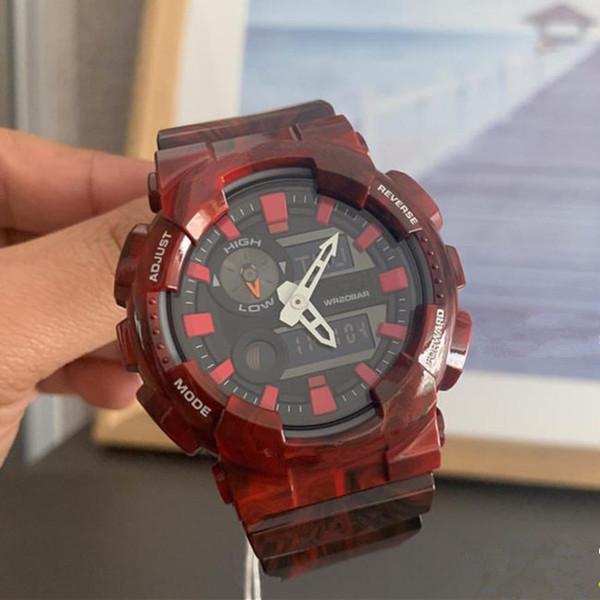 Новые предметы водонепроницаемые наручные часы G стиль шок резидент Мужские спортивные часы лучший бренд класса люкс военные светодиодные цифровые часы мужской Оптовая