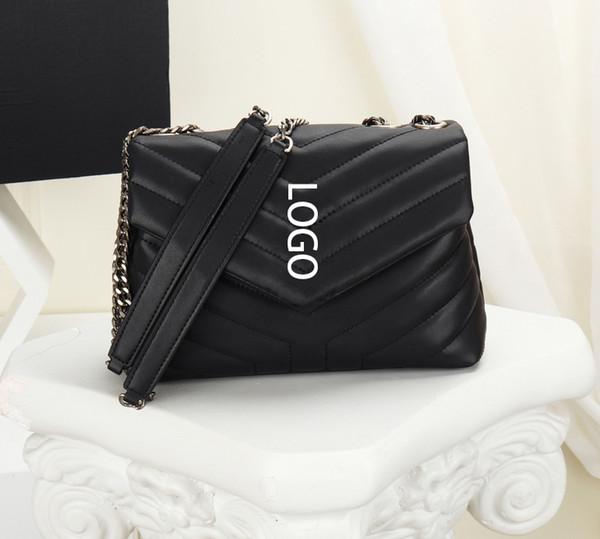 designer bags lou lou women designer luxury purse sheepskin genuine leather brand chain shoulder purse bag (520517725) photo